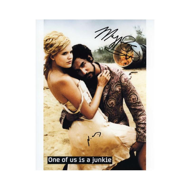 American Idol Judge Memorabilia signed by David Cook