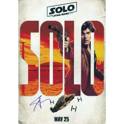 Solo A Star Wars Story...