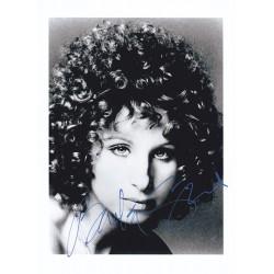Barbra Streisand Signed...
