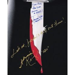 Martine Beswick Signature