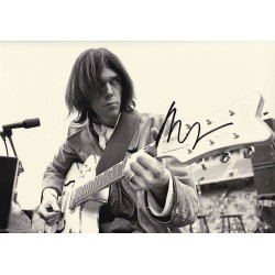 Neil Young Signed Photograph