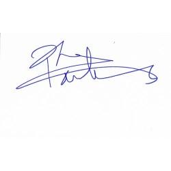 Pete Townshend Autograph...