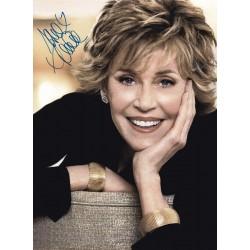 Jane Fonda Autograph...