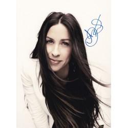 Alanis Morissette Signed Photo