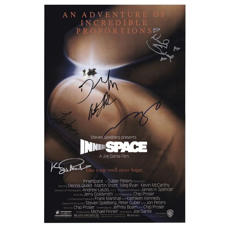 Martin Landau Autograph | Signature Card