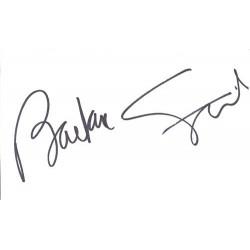 Barbra Streisand Autograph...