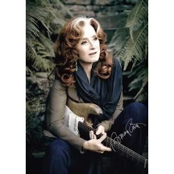 Bonnie Raitt Autographed Photo