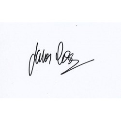 James Cosmo Autograph...