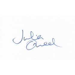 Julia Ormond Autograph...