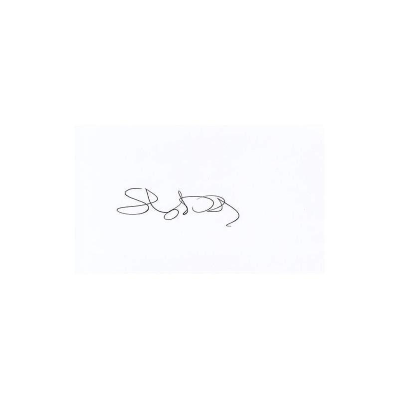 Chris Isaak Autograph Signature Card