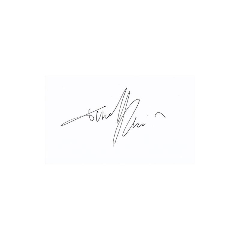 Frances Sternhagen Autograph Signature Card