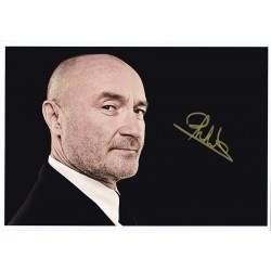Phil Collins Signed Photograph