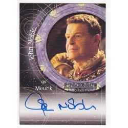 Stargate Heroes Autograph...