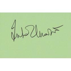Gena Rowlands Signature Autograph Card