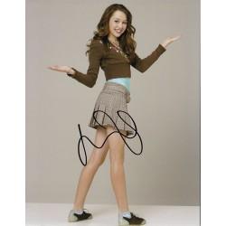 Miley Cyrus Signature...