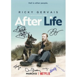 Alan Rickman Autograph Signature Card