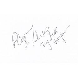 Paige Turco Autograph Signature Card
