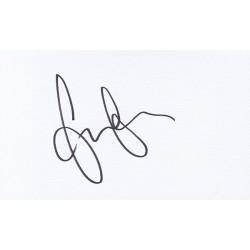 Emilia Clarke Autograph Signature Card