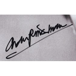 Toby Stephens Autograph Signature Card