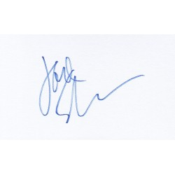 Carol Kane Autograph Signature Card