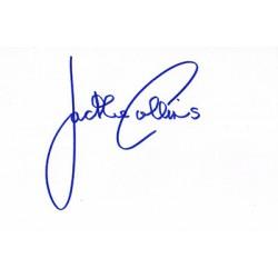 Jackie Collins signature