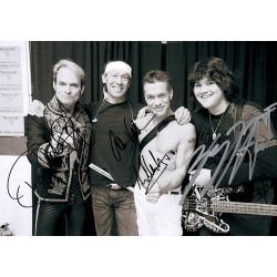 Van Halen Signed Photograph