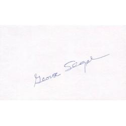 George Segal Signature