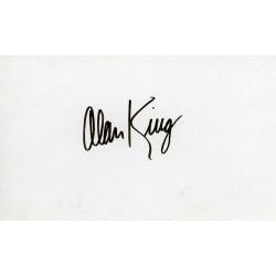 Alan King Autograph...