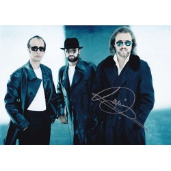 Barry Gibb Signed Photograph