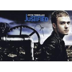 Justin Timberlake Justified...