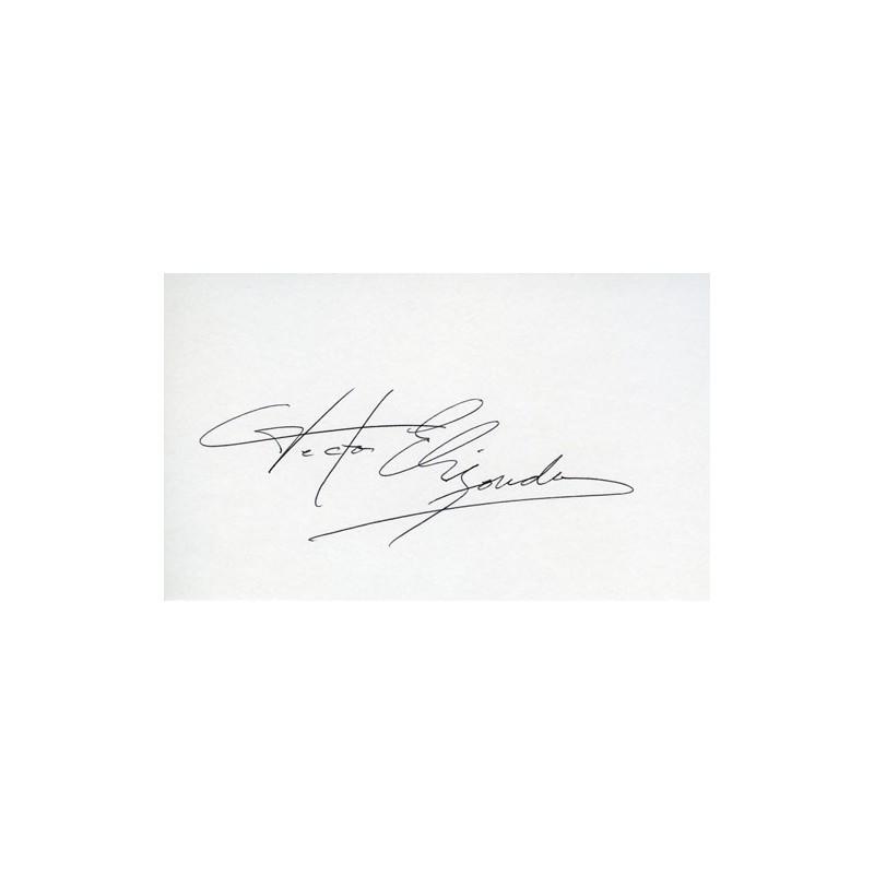 William B. Davis Autograph Signature Card